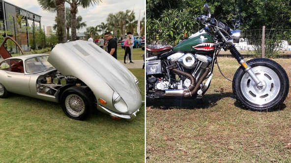 Great Rides: 1969 Jaguar E-Type and 1985 Harley Wide Glide