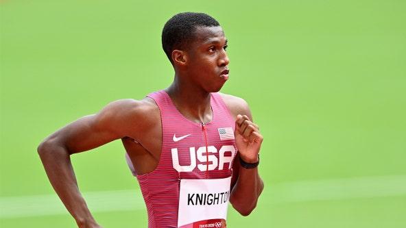 Tokyo Olympics: Tampa teen Erriyon Knighton wins semi-final heat, moves onto 200-meter finals