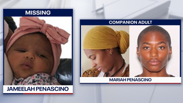 Missing child alert issued for Boca Raton infant
