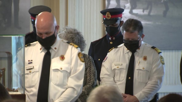 Family, friends honor 2 firefighters shot, killed by ex-firefighter 40 years ago