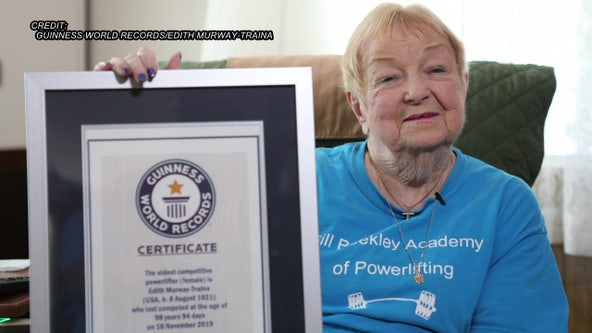 'You either have it or you don't': Tampa woman is world's oldest female powerlifter at nearly 100