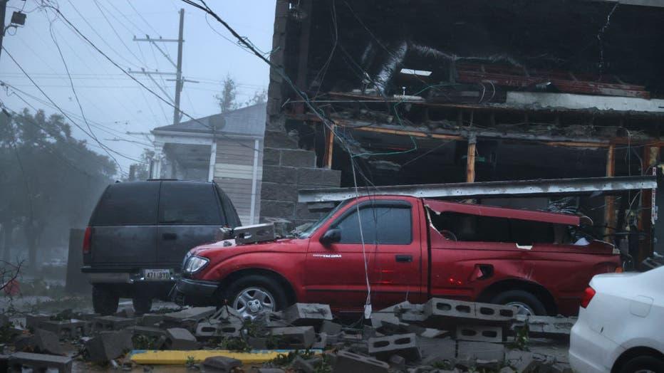 b3f5448e-Hurricane Ida Bears Down On Louisiana As A Major Storm