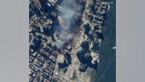 9/11 sites: Original satellite images show aftermath of terrorist attacks