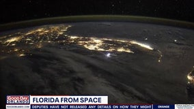 Astronaut tweets stunning view of Florida from space