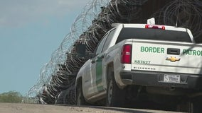 Monsoon flooding damages border wall gates in east Arizona