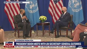 Biden to address COVID-19, climate change in 1st presidential visit to UN