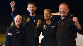 'That was a heck of a ride': Inspiration4 crew returns back to Earth