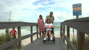 Mobi-mat donation improves Bay Area beach access for those with mobility issues
