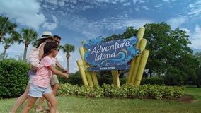 Adventure Island water park to stay open year-round with heated pools