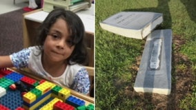 5-year-old Georgia girl killed after stone monument falls on her
