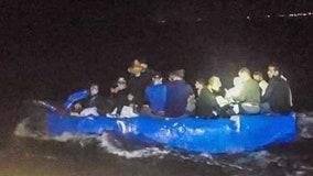 16 Cuban migrants arrive in Florida Keys on homemade raft, taken into federal custody