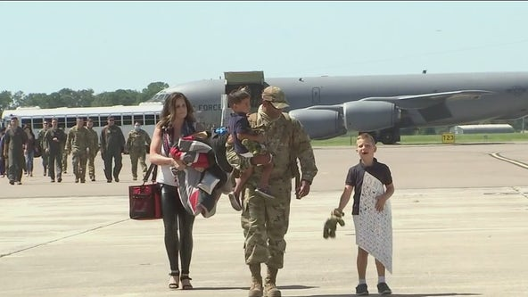 Homecoming mission complete for airmen deployed to Middle East