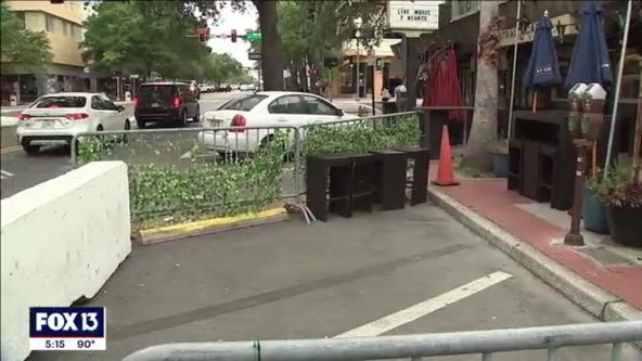 St. Pete pulls back on outdoor dining to make room for cars
