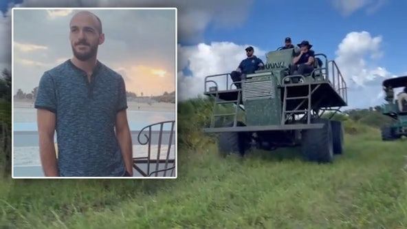 Brian Laundrie search: FAA sets up flight restrictions over manhunt for suspect in Gabby Petito case