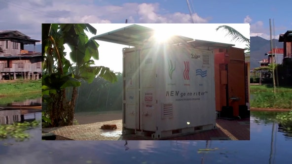 Tampa inventor creates wastewater treatment system for developing countries