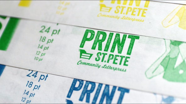 Gulfport print shop embraces classic processes and tools