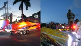 Deputy in Florida Keys stops rental truck towing boat, finds more than 30 Cuban migrants inside