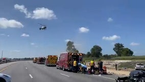 5 hospitalized following I-75 crash in Pasco County