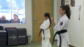 Bay Area sisters take home medals at Junior Olympics karate competition