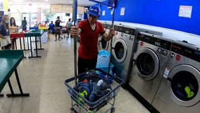 Community feels loads of love as volunteers pay for services at Bay Area laundry mat