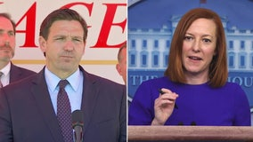 White House says DeSantis' opposition to vaccine mandates will 'make it more difficult to save lives'