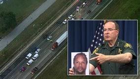 Woman 'near death' following I-4 shootout between motorcycle gangs in Polk; boyfriend arrested, sheriff says