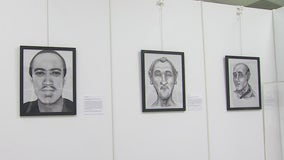 Giving names to missing, unidentified people through art