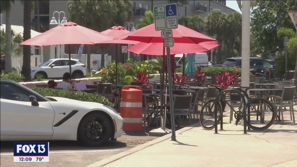 St. Pete streetside dining spots revert back to parking spaces