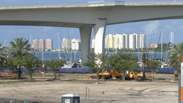 'Imagine Clearwater' construction activity will ramp up at Coachman Park, impacting drivers