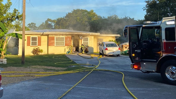 Man critically injured in Clearwater house fire