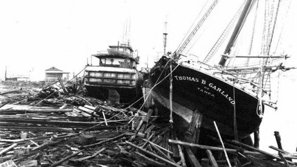 'Once in a lifetime' 1921 hurricane shows devastation Category 3 storm could have on Tampa Bay