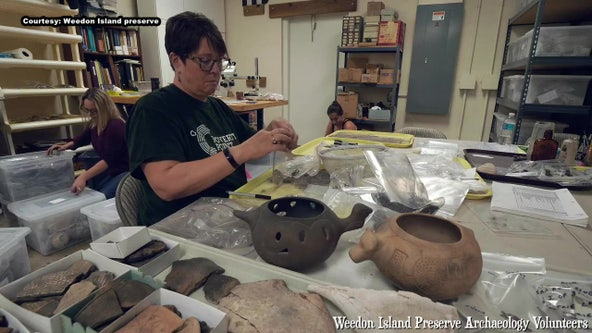 Artifacts dating back thousands of years on display at Weedon Island