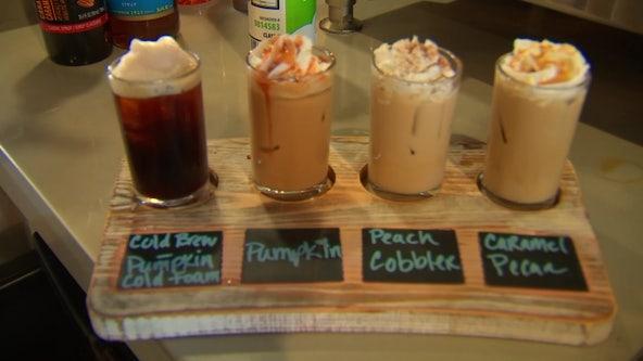Fall-flavored flights add festive twist to coffee in St. Petersburg
