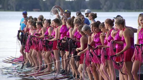 Water skiers set sights on breaking world records in Polk County