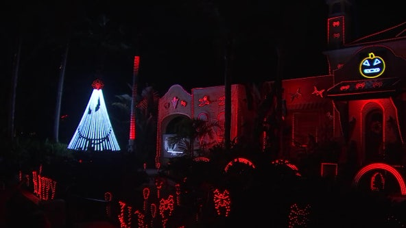 South Tampa Halloween display lights up lives of kids in need