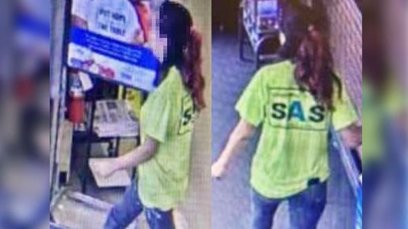 South Carolina woman hands cashier note saying a man is 'going to hurt her,' is found safe by police