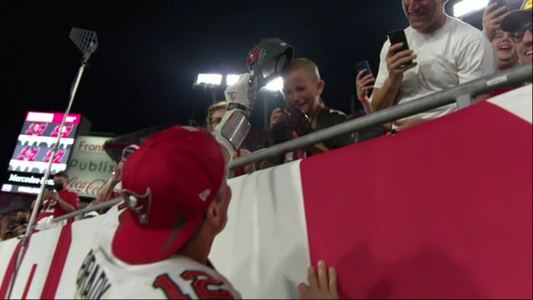 Tampa 10-year-old thanks Tom Brady for helping him survive cancer battle