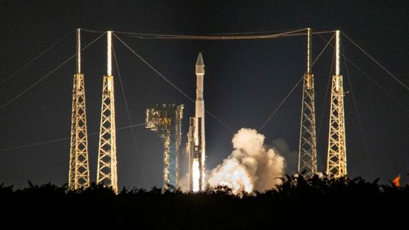 Probe blasts off on 12-year, 4-billion-mile journey to unlock secrets of ancient asteroids
