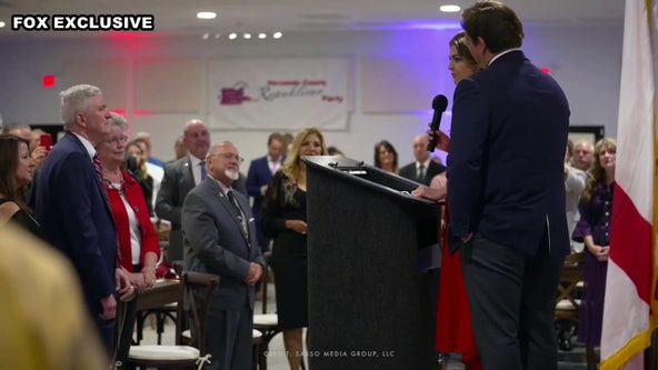 'Not giving up:' Casey DeSantis makes first public appearance since breast cancer diagnosis