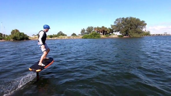 eFoils becoming a more common sight on Bay Area waterways