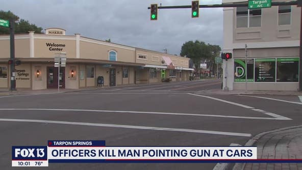 Police shoot, kill man pointing military-style rifle at drivers in Tarpon Springs