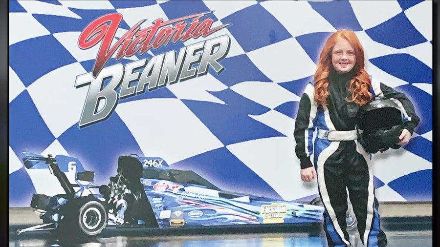 9-year-old drag racer already knows she wants to go pro