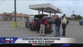 Cleveland police investigating 16-year-old's murder