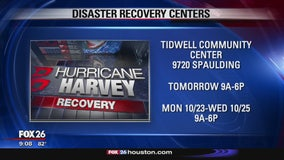 Additional disaster recovery centers open
