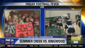 Summer Creek and Kingwood High Schools show their spirit