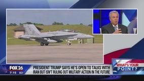 Trump Calls Off Iran Airstrike