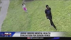 Judge orders mental health evaluation for Derion Vence