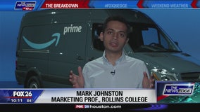 The Breakdown - Amazon delivery vans