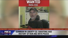 Gunman in Liberty Co. shooting had history of run-ins with police