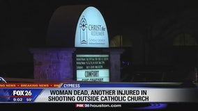 Deadly shooting in church parking lot